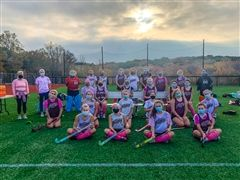 The St. Luke's Field Hockey team has raised over $2100 for Play4TheCure