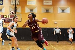Sydney Lowery '17 is returning to St. Luke's to help coach Girls Varsity Basketball