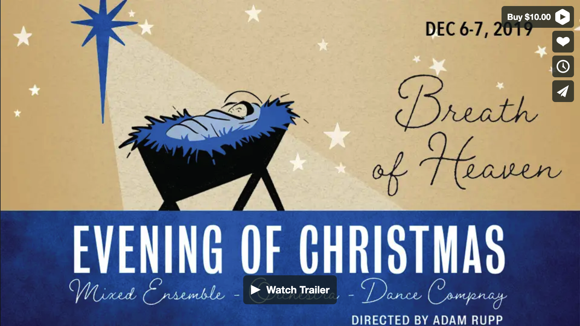 Evening of Christmas: Breath of Heaven