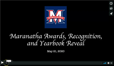 Maranatha Awards Program