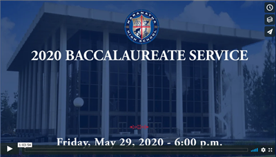 Baccalaureate Service - May 29, 2020