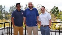 (L to R): Neil Barizo, Tim Parent, Joe Ramos