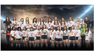 TMI's women's varsity soccer team closed their 2019 season with multiple district and state honors.