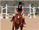 Addy Toll earns her U.S. Pony Club D-3 rating on her horse, Passin' the Class. Photo by SMNTEXAS PHOTOGRAPHY