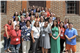 Jill Cross (top row left), TMI Episcopal's dean of curriculum and instruction, gathers with teachers from all over the country who attended a session of the Colonial Williamsburg Teacher Institute.