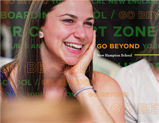 Go Beyond: New Hampton School Viewbook