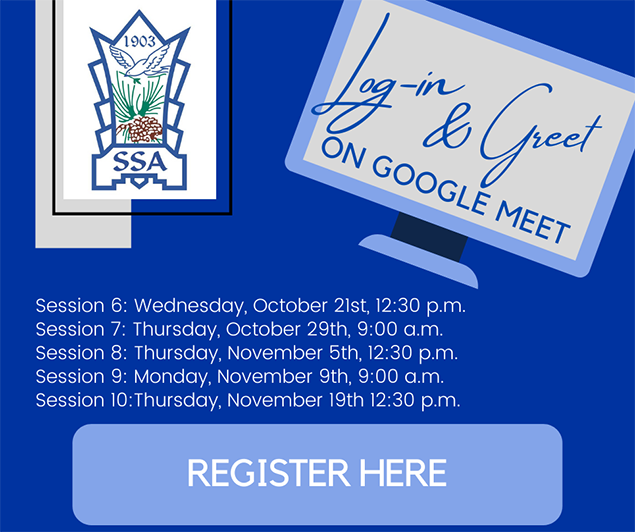 Log-in and Greet on Google Meet
