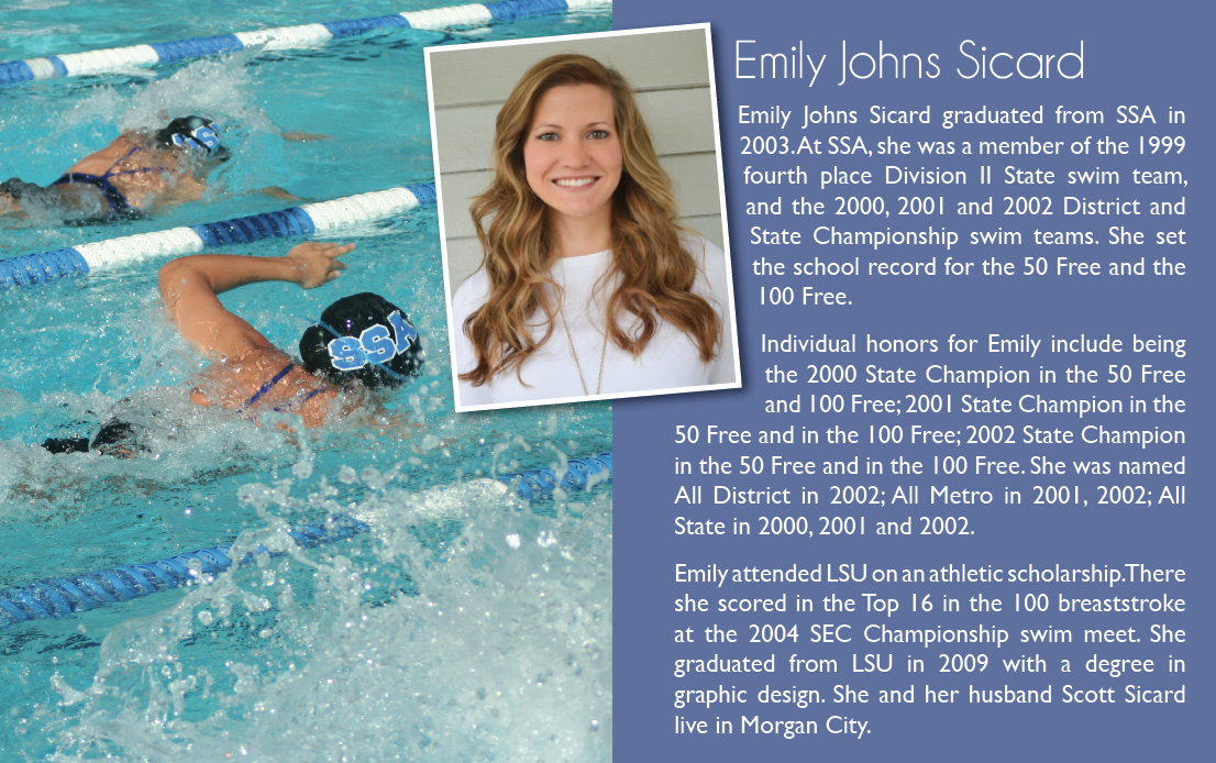 Inductee 2015: Emily Johns Sicard