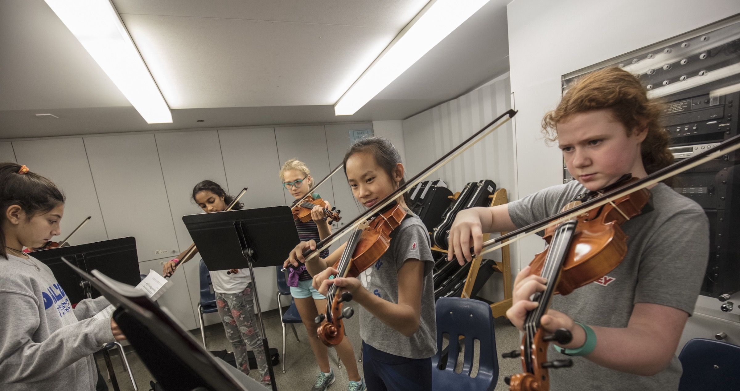 The Dalton music program offers opportunities for self-expression and communication at different levels of musical sophistication.