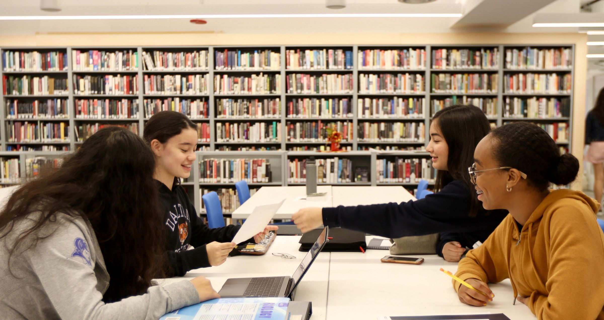 Dalton's libraries offer a rich and diverse program to support all aspects of the school's curriculum while fostering a lifelong love of reading and learning.