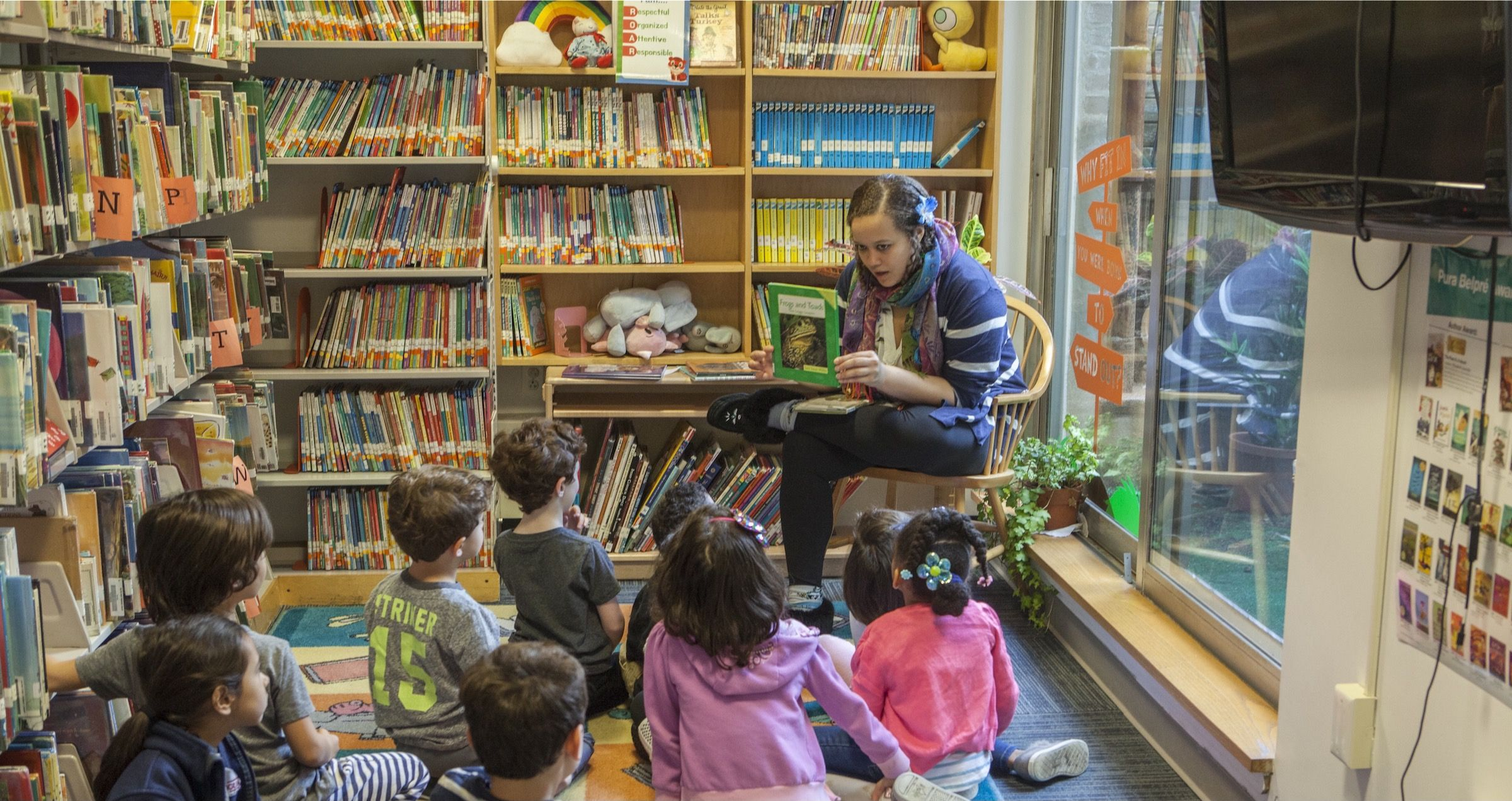 Our libraries offer a rich and diverse program to support all aspects of the school's curriculum while fostering a lifelong love of reading and learning.