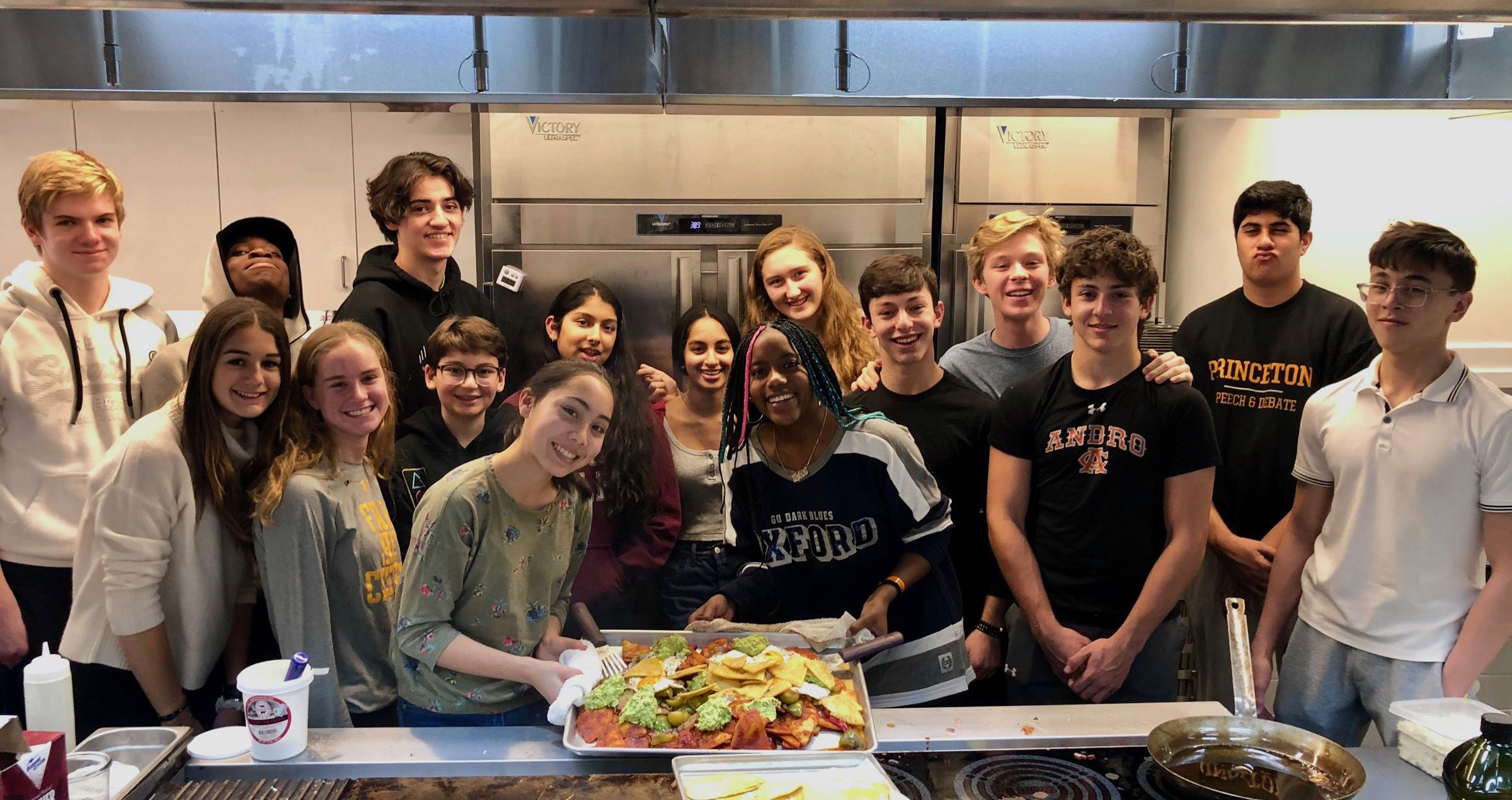 Our new teaching kitchen provides students with insights on creative cooking techniques and promotes sustainable food sources.