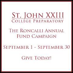 St  John XXIII College Prep | Private Catholic School in
