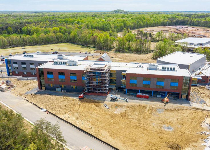 New Campus Progress